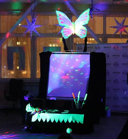 световое шоу, для детей, день рождения, праздник, представление, подарок