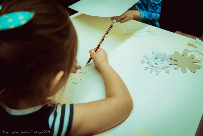 Новый год, зима, своими руками, новогодние снежинки, чем занять ребенка, занятие