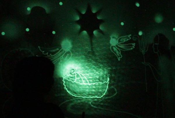 театр для детей, батлейка, Рождество, театр кукол, световое шоу