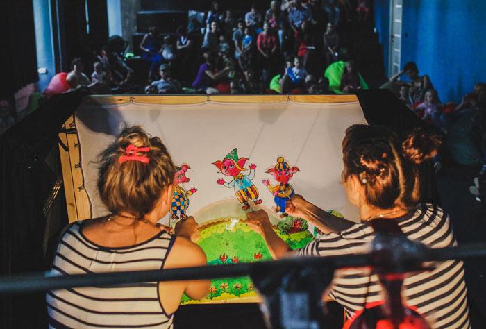 театр теней, детские спектакли, кукольный театр