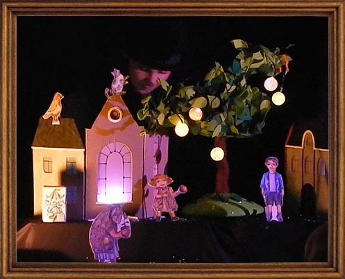 театр теней, кукольный театр, для детей