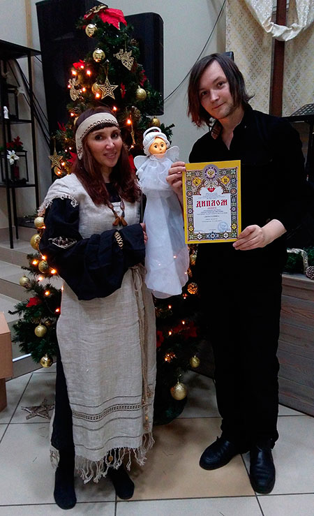 фестиваль, Санкт-Петербург, театр кукол, вертеп, Рождество