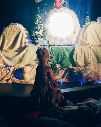 Новый год, театр, дети, для ребенка, камерный, уютный