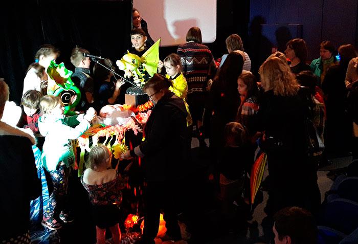 Висагинас, Литва, театр, кукол, для детей, световое, шоу