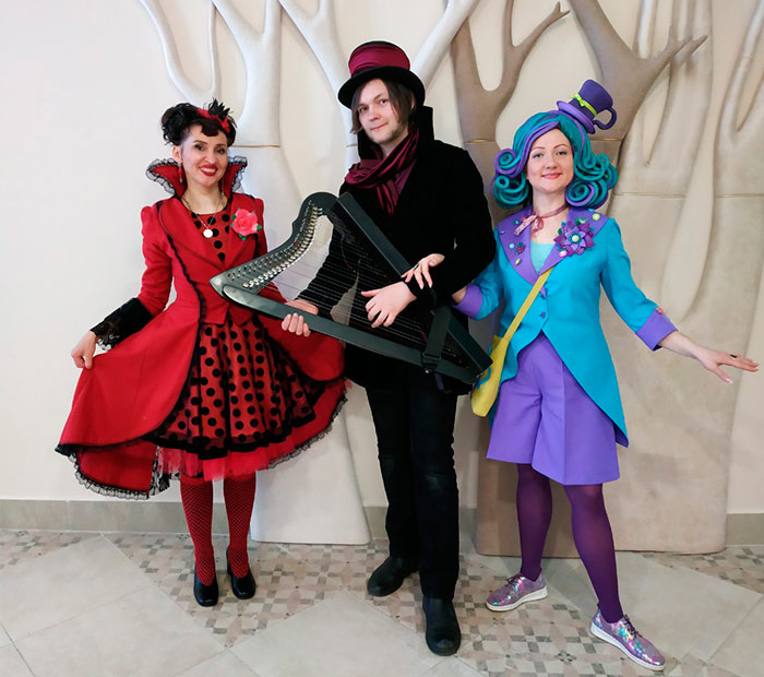 Алиса в стране Чудес, Зазеркалье, Страна Чудес, Алиса, театр, аниматор