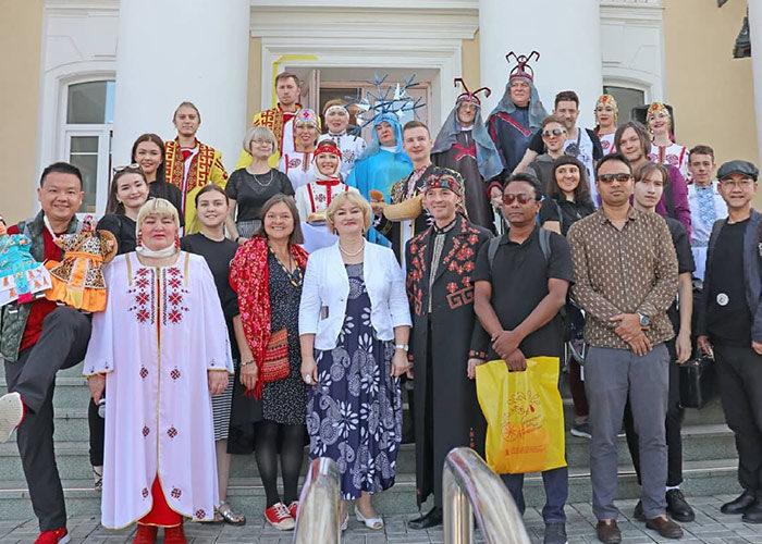 Чебоксары, фестиваль, Россия, театра, театры кукол